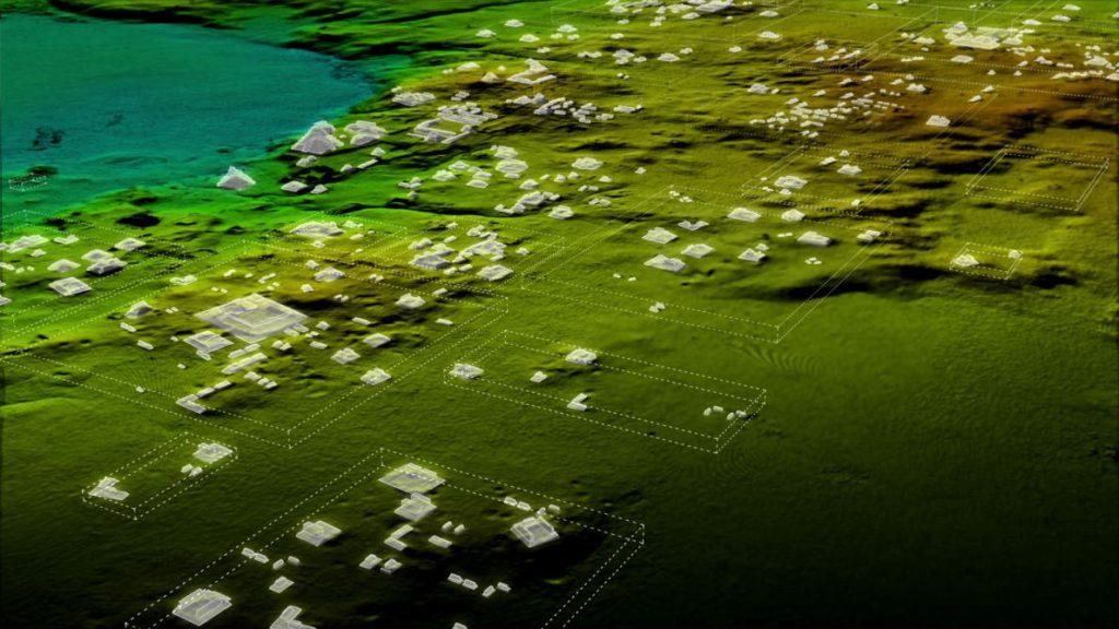схема постройки городов майя